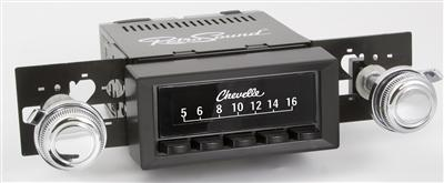 Retrosound 1968-70 Chevrolet Chevelle Hermosa Radio