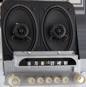 1951-52 Chevrolet AM/FM Stereo Radio LOWER THAN EBAY