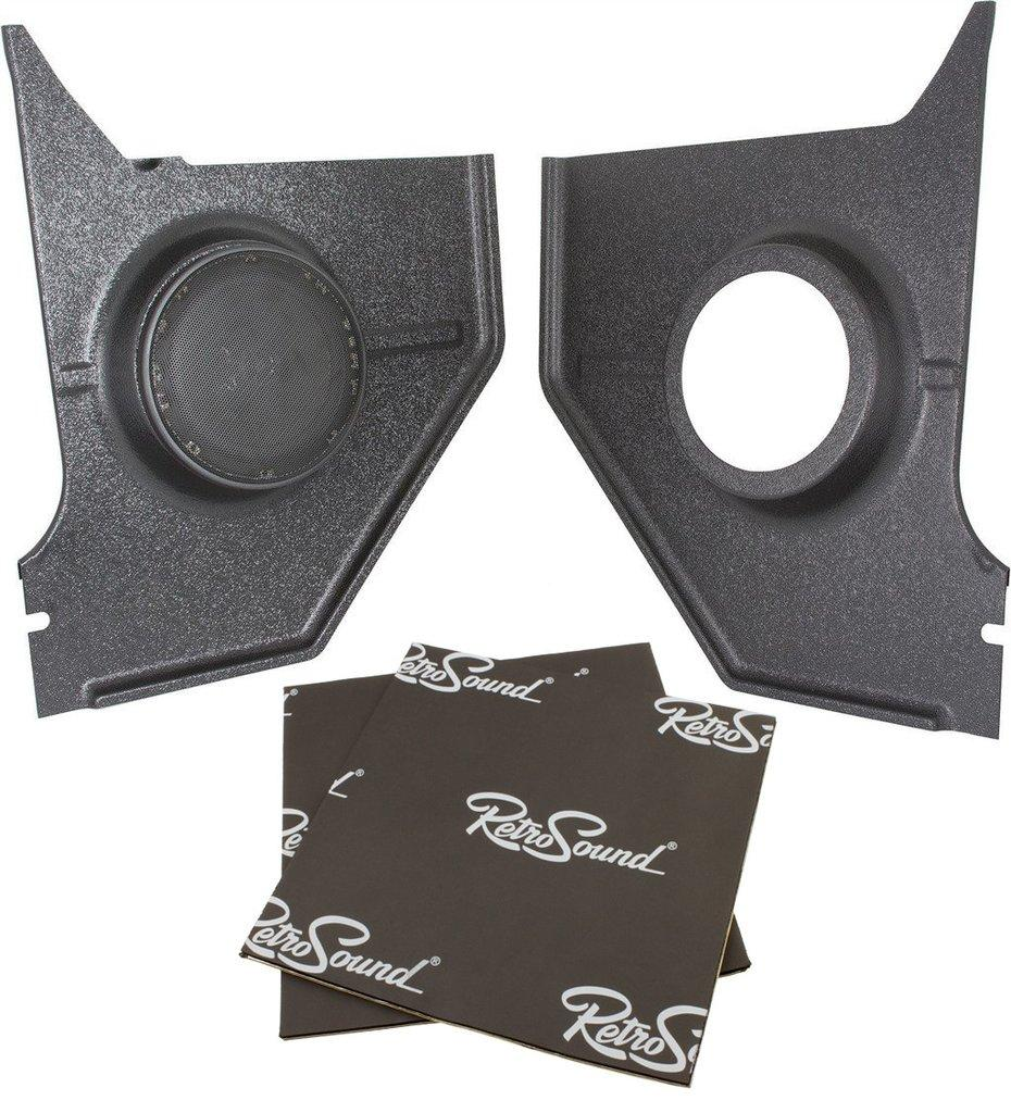Retrosound Kick Panel Speakers for 1967-68 Ford Mustang