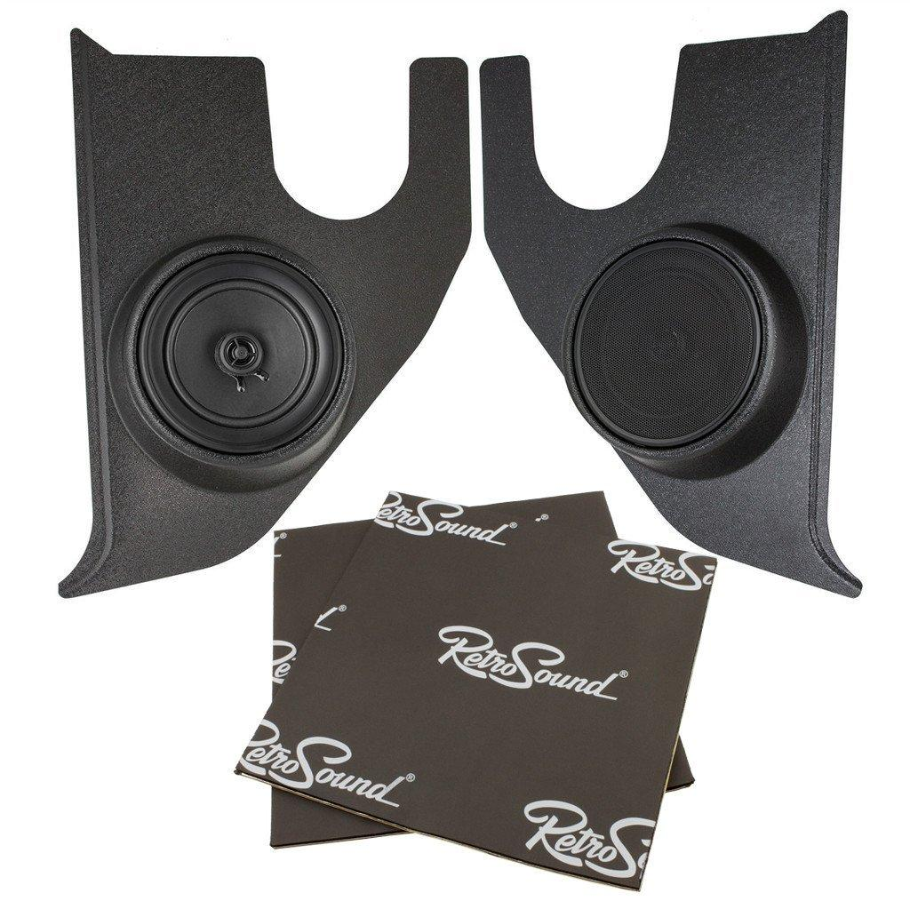Retrosound Kick Panel deluxe Speaker with dampening for 1967-72 Chevy Truck