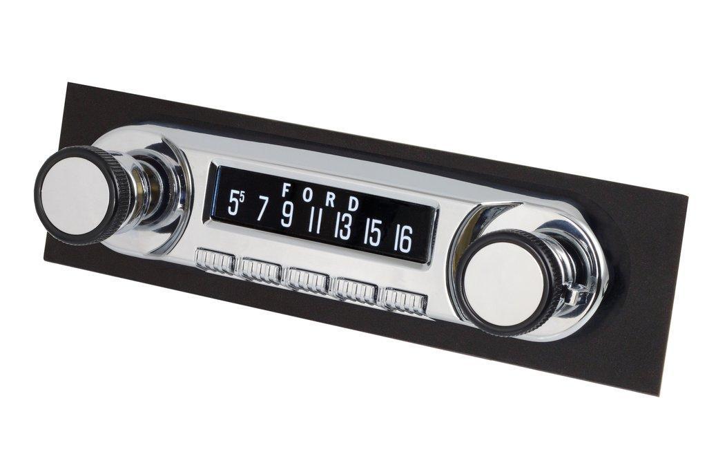 "Retrosound 1961-68 Dodge ""D"" Series Trucks Huntington Radio with DIN Repair Kit"
