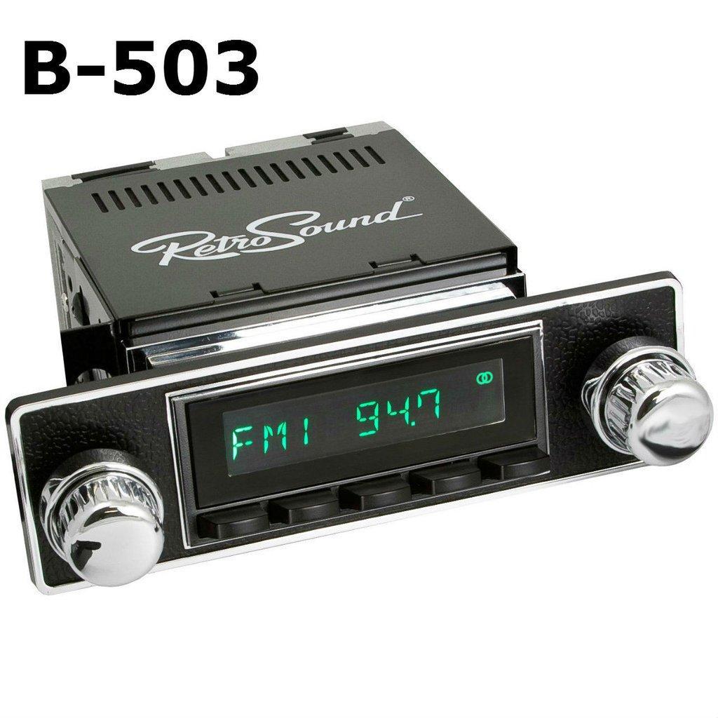 Retrosound 1952-57 Volkswagen Beetle Hermosa Radio