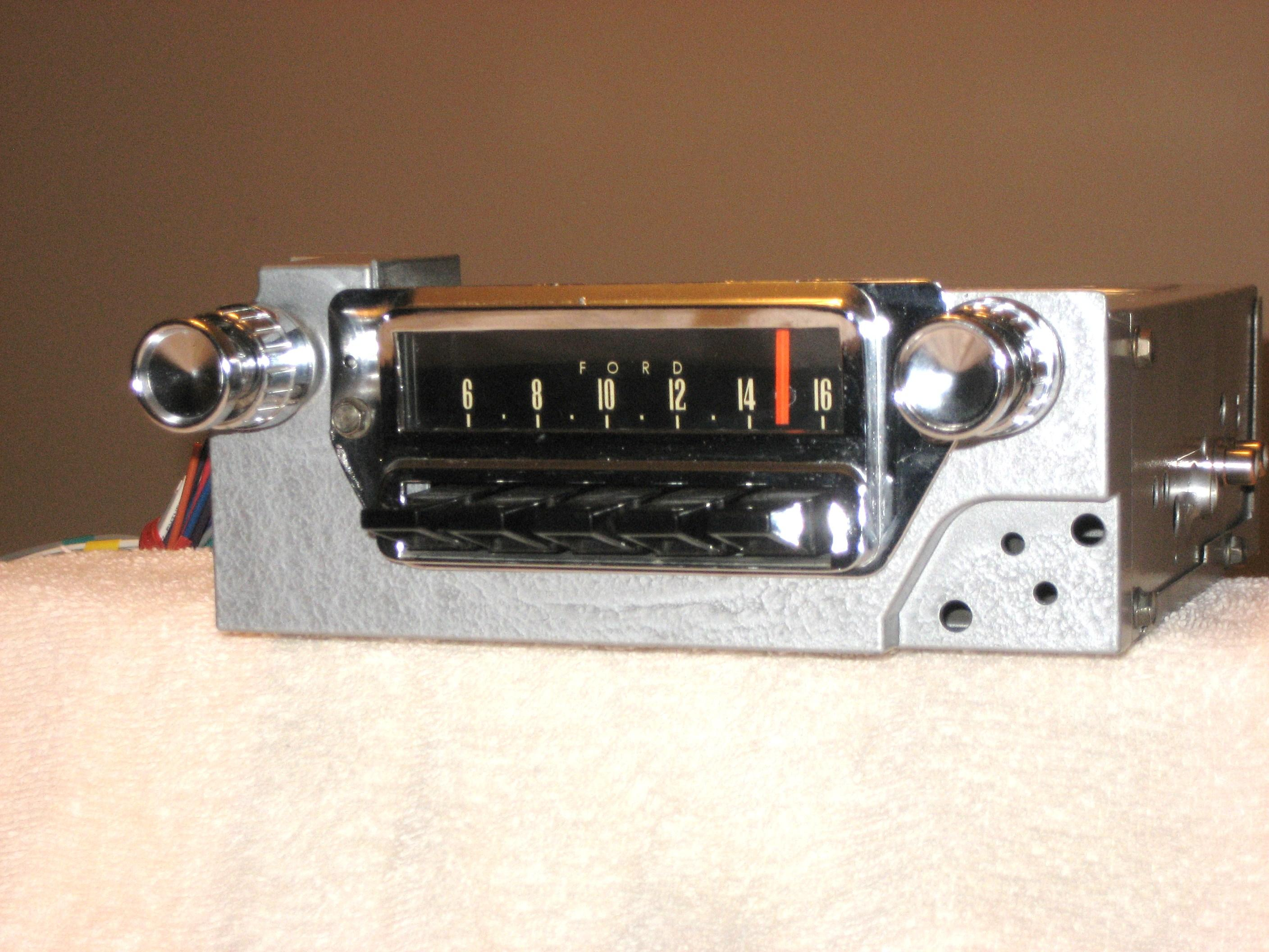 1964-66 MUSTANG AM-FM STEREO RADIO