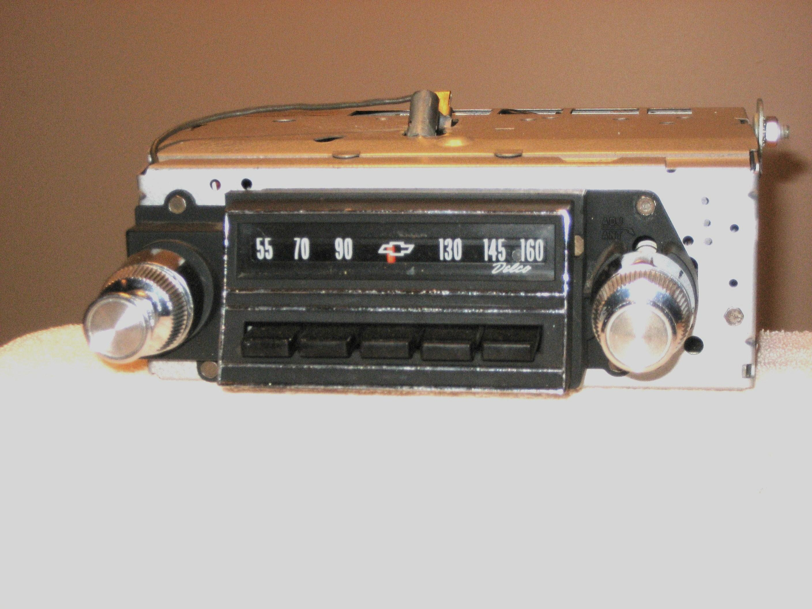 1965 CHEVY AM-FM STEREO RADIO