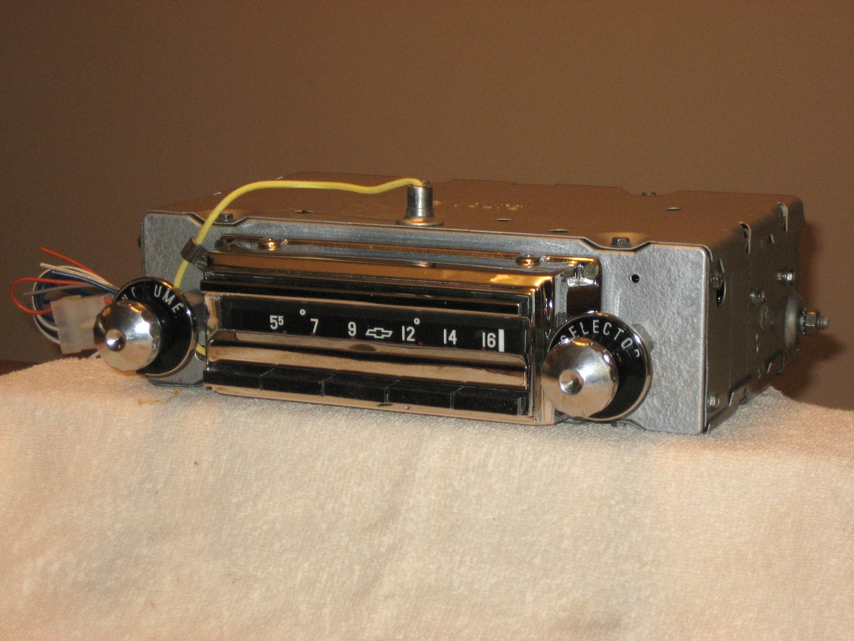 1956 CHEVY WONDERBAR RADIO AM-FM STEREO