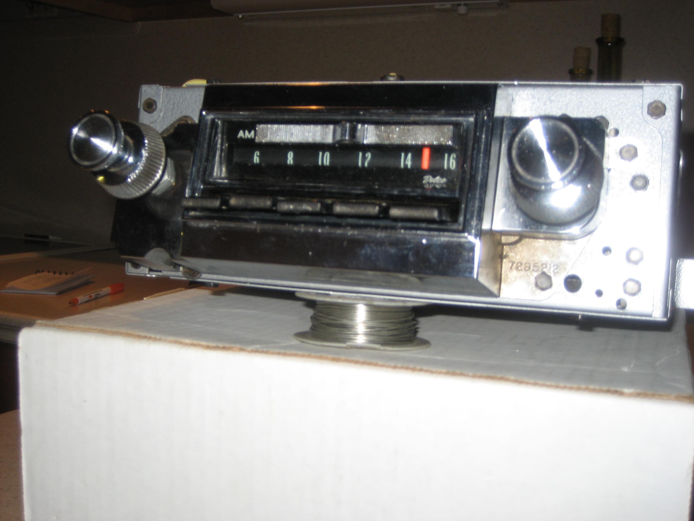1966 CHEVY ORIGINAL AM-FM STEREO